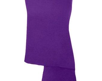 Purple Pashmina / Purple Shawl / Purple Wrap - 100% Cashmere - Handmade in Nepal - Pashminas and Wraps