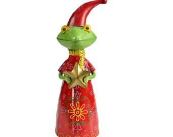 Decorative Frog with Star