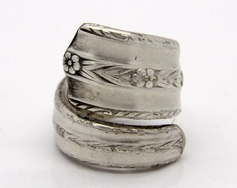 Spoon Ring - Size 6 - Hand Bent By The CrafsMan - Steady Craftin'