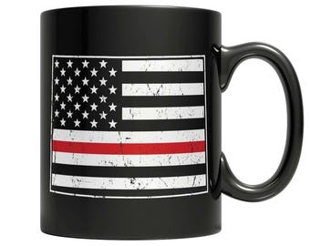 Limited Edition Firefighters - I fight what you fear Colorado Brotherhood Mug