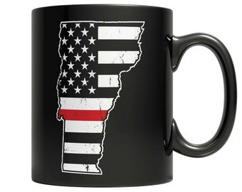 Limited Edition Firefighters - I fight what you fear Vermont Brotherhood Mug