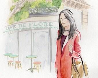 Order your customized Portrait in Paris