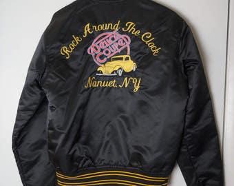 Swingin' Vintage Bomber Jacket
