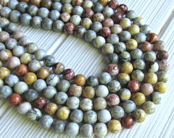 "Sky eye Jasper. 8mm beads, full strand, sky eye beads, multicolor Jasper beads, A quality beads, color beads, 16"" strand, gemstone bead"