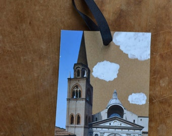 Italian Building Bookmark