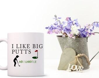 Golf themed mug, perfect Birthday gift for the golfer