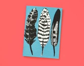 A6 note book blank Blue Springs