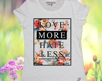 LOVE MORE - t-shirt donna