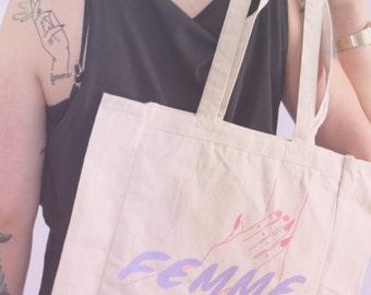 Pastel Femme Tote Bag