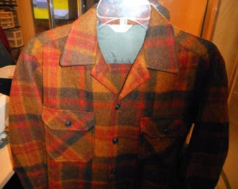 Vintage Mens Shirt/Jacket  60's  by VAGABOND  by RICH SHER Size Medium