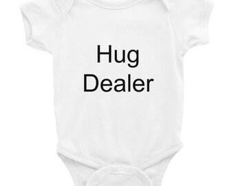 Cute Hug Dealer Onesie // Baby Shower Gift