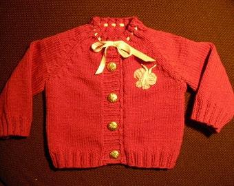 Baby jacket, Cardigan