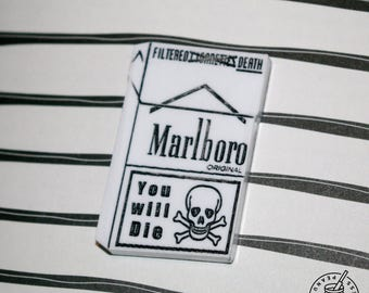 Marlboro packet - Filtered Death pin