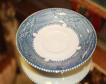 Currier and Ives Tea Cup Plate