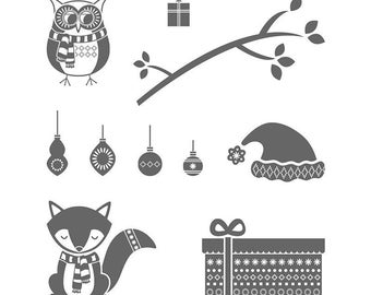 Stampin' Up! COZY CRITTERS set of 10 Photopolymer Stamps