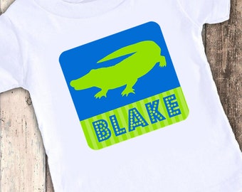 Crocodile Alligator custom t shirt tshirt personalized