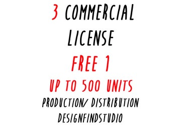 Get 3 Commercial License FOR the price of 2 !!!