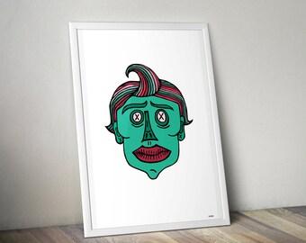 Ghouly Bonez Illustration
