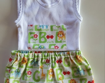 Nappy cover pants with matching 9