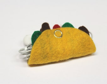 Taco Earbud Holder