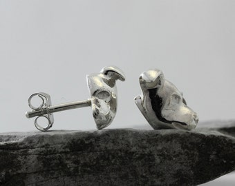 Vakkancs Staffordshire Bullterrier (Staffbull) solid sterling silver earrings