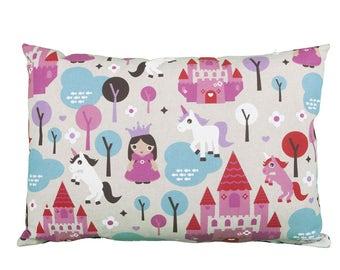 Pillow rectangle Unicorn Princess kind