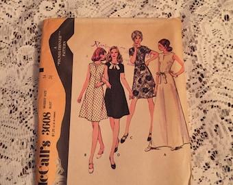 McCall's 3608, Vintage McCall's 3608, Vintage Pattern, Vintage Misses' Dress