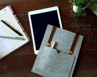 AVONLEA Felt Sleeve / iPad Pro 9.7 Sleeve / iPad Pro 9.7 Case / iPad Air Sleeve / iPad Air Case / iPad Sleeve / iPad Case
