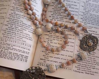 Victorian Filigree Rosary