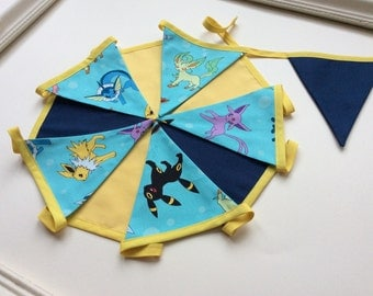 Pokemon Party Bunting in a Bag