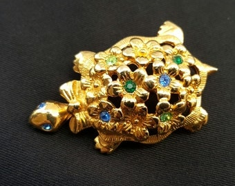 Avon Turtle Brooch