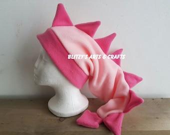 Dragon fleece hat- Kawaii dragon