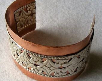 Cuff - Copper and Aluminium