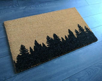 Tree tops doormat