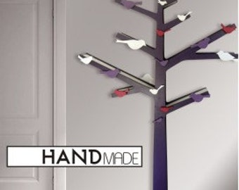 tree shelf etsy. Black Bedroom Furniture Sets. Home Design Ideas