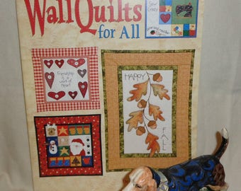 Wall Quilts For All - Designs by Chris Malone - Free Shipping