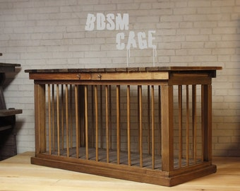 Doll BDSM furniture | Doll BDSM Cage | Doll Dungeon furniture | Barbie BDSM | Dollhouse miniature | sexy toys | Barbie furniture | Mature