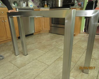 Stainless Steel Table Legs,Custom Sizes,Perfect For Home,Offices Or Loft,