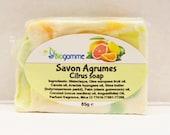 Soap Citrus Soft and Creamy vegan / vegan SOAP soft and creamy in the citrus