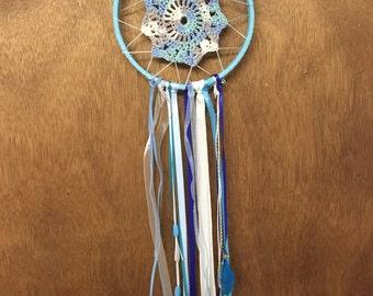 Light Blue Dreamcatcher