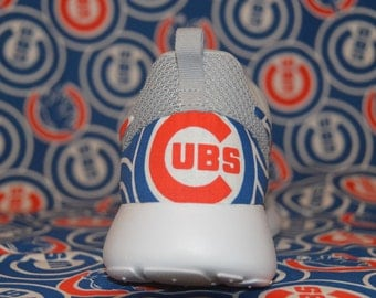 MLB 2016 World Series Champions Chicago Cubs Nike Roshe Run One Shoe Sneaker