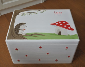 "Memory box ""Hedgehog"""