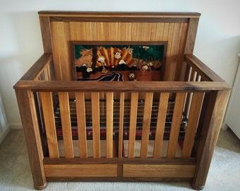 Marquetry Crib