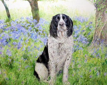 Commission an Original Watercolour Painting by Kirsty Bonning