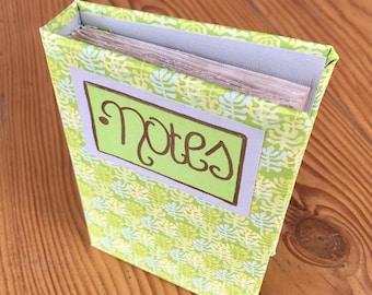Handmade Notebook/ Journal (green)