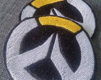 Overwatch logo sew-on patch