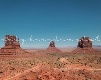 Monument Valley Photograph, Utah, Travel Photography, Desert, Color, Landscape, Fine Art, Road Trip, USA