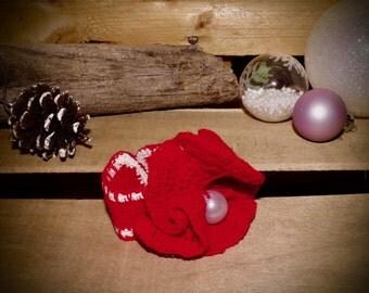 Poppy red bracelet
