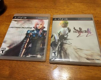 PS3- Final Fantasy XIII and XIII-2