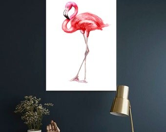 Flamingo watercolor print Flamingo Art print Flamingo Wall decor Flamingo watercolor print Flamingo wall decor Flamingo home decor
